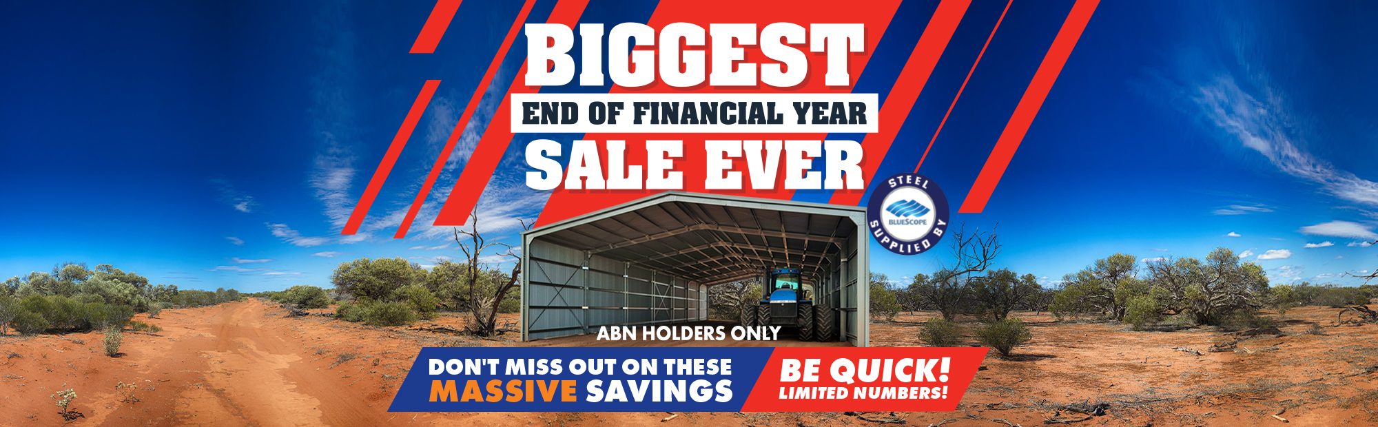 Now Buildings EOFY Sale 2020